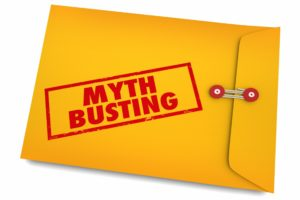 Busting myths envelope for metal braces.